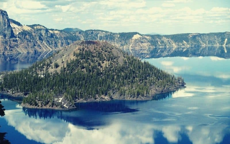 Wizard Island Summit Trail