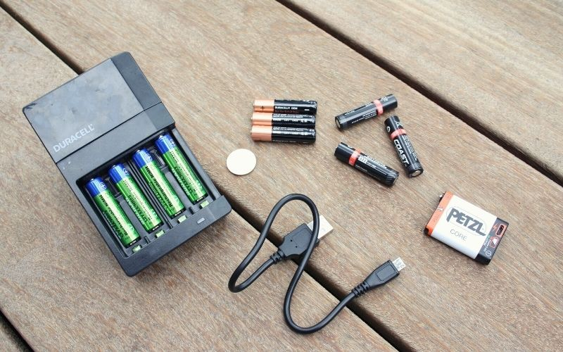 Various Battery Types