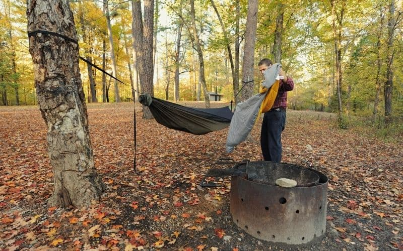 Sea to Summit Spark out Hammock Camping