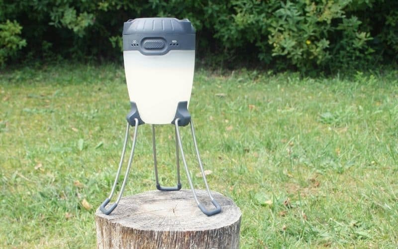 Black Diamond Apollo lantern with its tripod legs