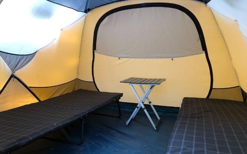 Coleman Comfortsmart Cots in REI Basecamp