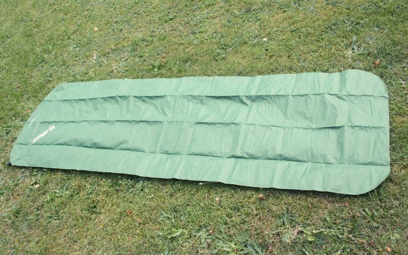 Deflated Klymit Static V on ground