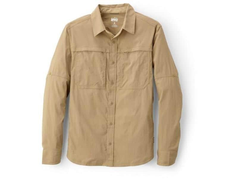 REI Co-op Sahara Solid Long-Sleeve Shirt